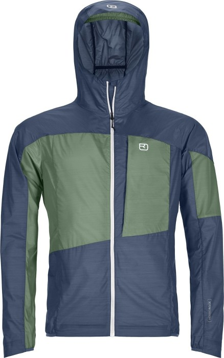 Ortovox Merino Windbreaker Jacke night blue (Herren) (60002)