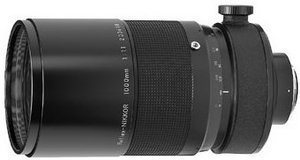 Nikon Reflex 1000mm 11 black