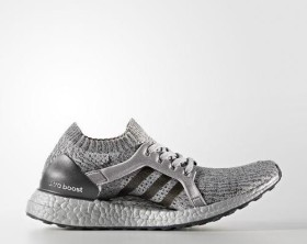 adidas Ultra Boost X LTD mid grey/dark grey heather solid grey/silver metallic (Damen) (BA8005)