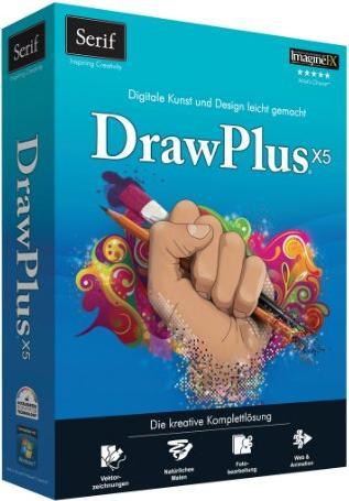 Serif DrawPlus X5 (deutsch) (PC) (Serif SE-11158) -- via Amazon Partnerprogramm