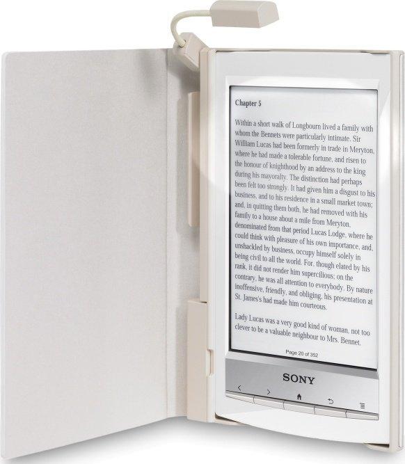 Sony PRSA-CL10W Einband mit Leuchte weiß