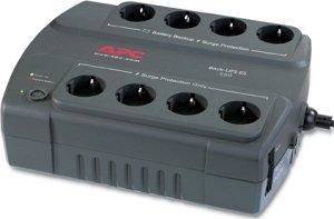 APC Back-UPS ES 550VA power strip, USB (BE550-GR)