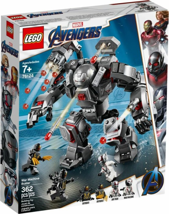 LEGO Marvel Super Heroes Spielset - War Machine Buster (76124)