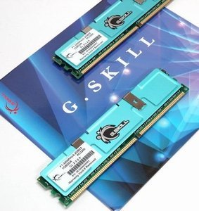 G.Skill Value DIMM kit 2GB, DDR-400, CL2-3-2-5 (F1-3200PHU2-2GBZX)