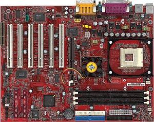 MSI MS-6528 845 Pro2-R, i845, RAID (SDR)