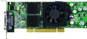 Matrox QID, 128MB DDR, KX20, TV-out, low profile (QID-QDAP128/QID-P128LPAF)