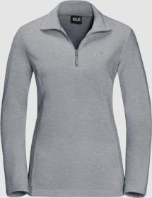 Jack Wolfskin Gecko Shirt langarm slate grey (Damen) (1703771-6046)