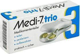 Bild Hans-H. Hasbargen Medi 7 trio Tablettenteiler weiß,    1 Stück