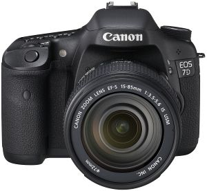 Canon EOS 7D black with lens EF 70-300mm 4.0-5.6 L IS USM (3814B068)