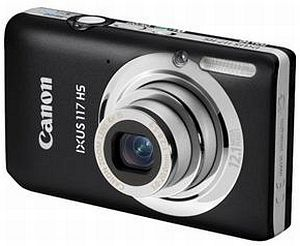 Canon Digital Ixus 117 HS black