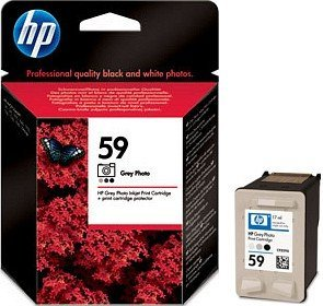HP Nr 59 Printhead with ink grey photo (C9359AE)