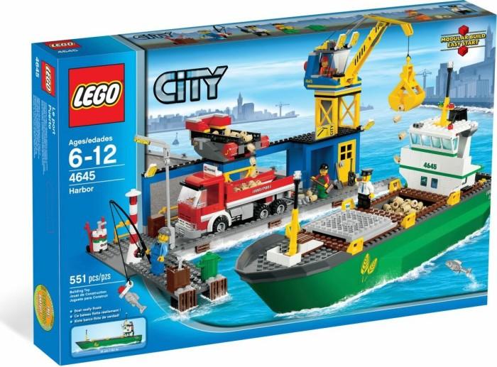LEGO - City Harbour - Harbour (4645) -- via Amazon Partnerprogramm