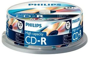 Philips CD-R 90min/800MB, 25er-Pack (CR8D8NB25)