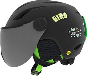 Giro Buzz MIPS Helm matte black/bright green alien (Junior) (7097815)