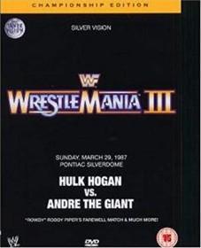 Wrestling: WWE - Wrestlemania 3 Championship (DVD)