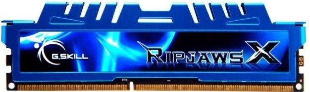 G.Skill RipJawsX niebieski DIMM 8GB, DDR3-1866, CL9-10-9-28 (F3-1866C9S-8GXM)
