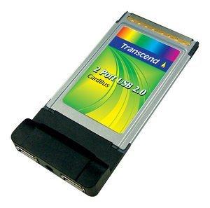 Transcend 2-port USB 2.0 Cardbus controller (TSCBU2)