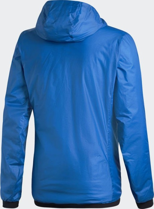 adidas light insulated jacke shock blue