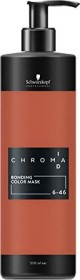 Schwarzkopf Chroma ID Bonding Color Mask Haartönung 6-46 dunkelblond beige schoko, 500ml