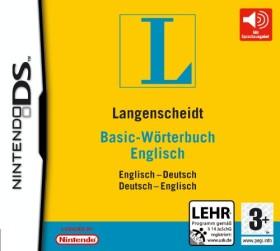 Langenscheidt Basic-Wörterbuch Englisch (DS)
