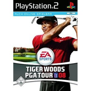 EA Sports Tiger Woods PGA Tour 2008 (deutsch) (PS2)