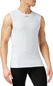 Gore Wear M Gore Windstopper Base Layer Shirt ärmellos light grey/white (Herren) (100025-9201)