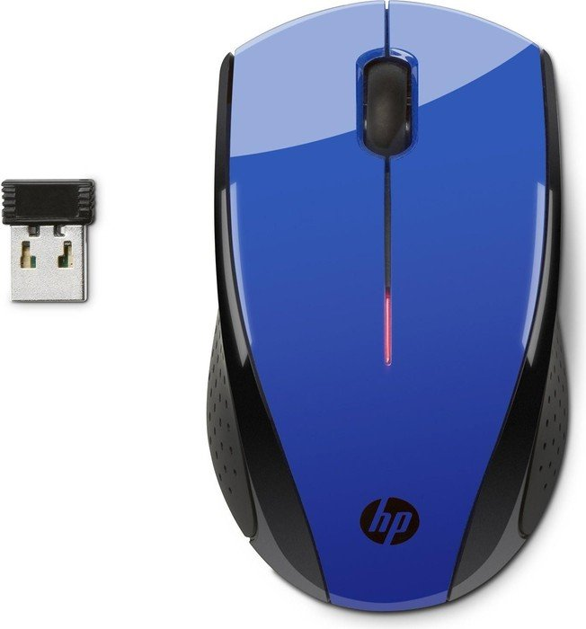 HP X3000 Wireless Mouse kobaltblau, USB (N4G63AA)