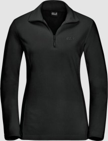 Jack Wolfskin Gecko Shirt langarm schwarz (Damen) (1703771-6000)