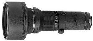 Nikon 400mm 3.5 IF-ED black