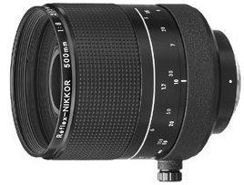 Nikon Reflex 500mm 8 schwarz (JAA506AB)
