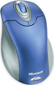 Microsoft Wireless Optical Mouse Ocean Blue, PS/2 & USB (K80-00031/K80-00069)