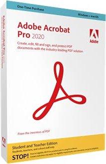Adobe Acrobat Pro 2020, EDU (deutsch) (PC/MAC) (65311362) -- via Amazon Partnerprogramm