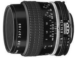Nikon Micro 55mm 2.8 schwarz (JAA616AB)