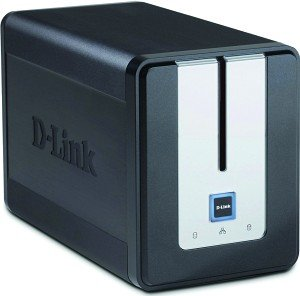 D-Link ShareCenter Twin DNS-323 2000GB, Gb LAN