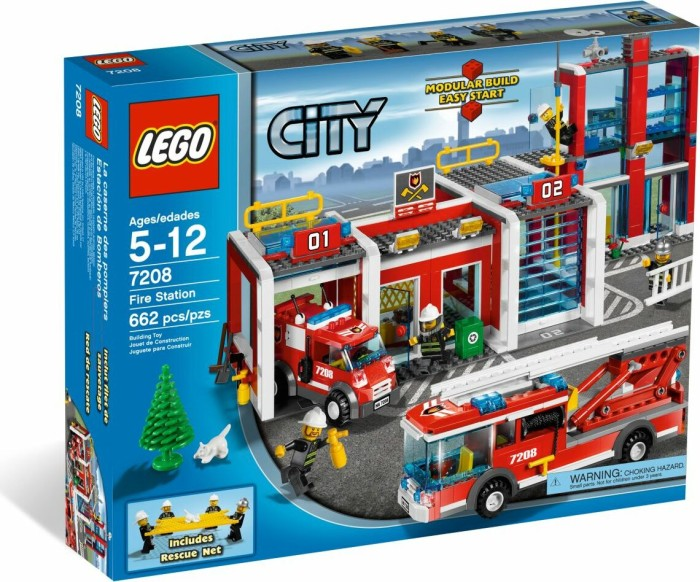 LEGO - City Fire - Fire Station (7208) -- via Amazon Partnerprogramm