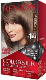 Revlon Colorsilk Beautiful colour hair colour 50 light ash brown, 130ml