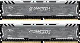 Crucial Ballistix Sport LT grau DIMM Kit 16GB, DDR4-3000, CL15-16-16 (BLS2K8G4D30AESBK / BLS2C8G4D30AESBK)