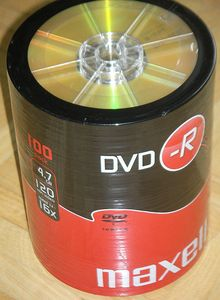 Maxell DVD-R 4.7GB, 100er-Pack -- © bepixelung.org