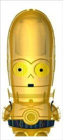 Mimoco Mimobot Star Wars C-3PO 2GB, USB-A 2.0