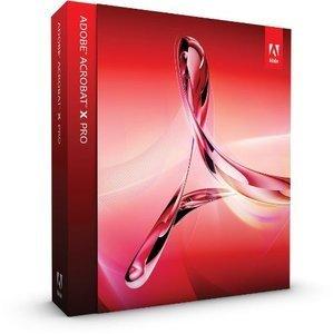 Adobe: Acrobat X Pro, EDU (angielski) (MAC) (65084263)