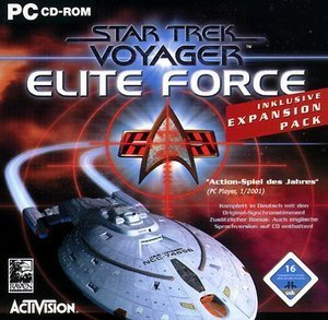 Star Trek Voyager: Elite Force Gold (niemiecki) (PC)