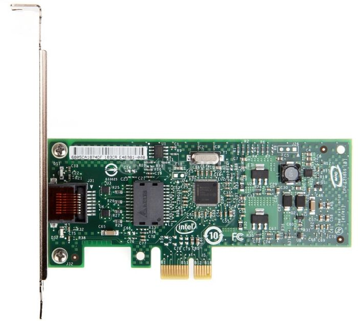 Intel Gigabit CT Desktop Adapter, 1x 1000Base-T, PCIe x1 (EXPI9301CT) -- © caseking.de