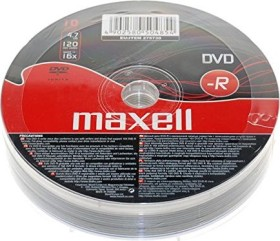 Maxell DVD-R 4.7GB, 10er-Pack
