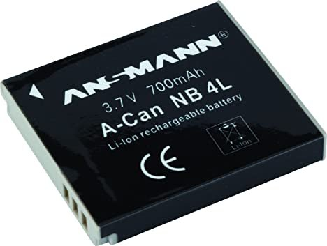 Ansmann A-Can NB-4L Li-Ion battery (5022263) -- provided by bepixelung.org - see http://www.bepixelung.org/1965 for copyright and usage information