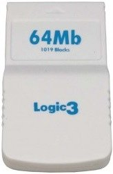 Logic3 64MB Memory Card - 1019 Blocks (GC)