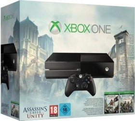 Microsoft Xbox One - 500GB Assassin's Creed: Unity & Assassin's Creed IV: Black Flag Bundle schwarz