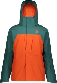 Scott Ultimate Dryo 10 Skijacke jasper green/orange pumpkin (Herren) (277700-6640)
