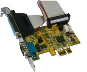 Exsys EX-44171, seriell/parallel, PCIe x1