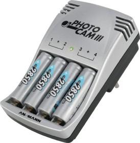 Ansmann PhotoCam III incl. 4x Mignon AA NiMH Batteries 2700mAh (5007093)