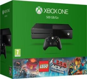 Microsoft Xbox One - 500GB The LEGO Movie Videogame Bundle schwarz